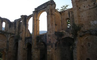 The Monastery at Alet Les Bains, Aude