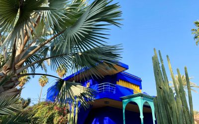 The Majorelle Gardens Marrakesh