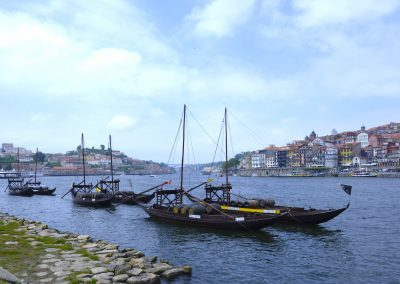 Port barges on The River Douro Porto Portugal Two Frogas Travel