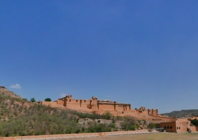 Amer Fort from below