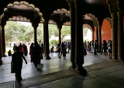 Archways in Tippu Sultan's summer palace Bangalore