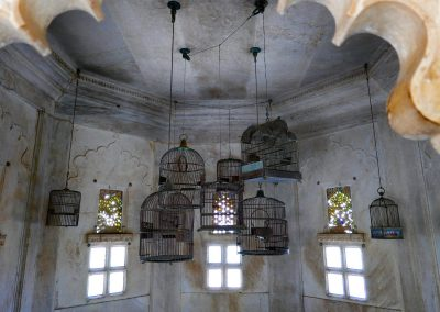 Bird cages City Palace Udaipur