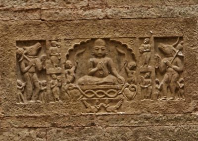 Buddha Carving in stepwell Bundi