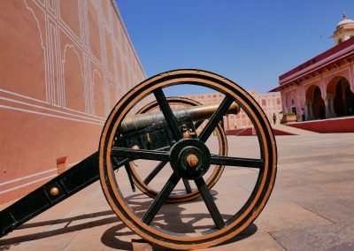 Cannon in City Palace Jaipur The Pink city