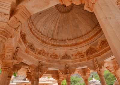 Ceiling Gaitore Memorials of Kings Jaipur