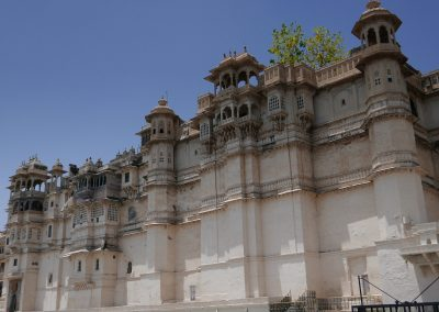 City Palace front Udaipur