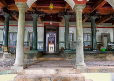 Entrence to a Chettinad mansion