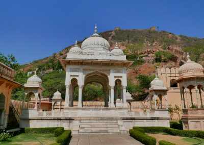 Gaitore Memorials of Kings Jaipur and fort
