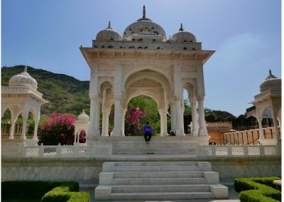Gaitore Memorials of Kings Jaipur gardens