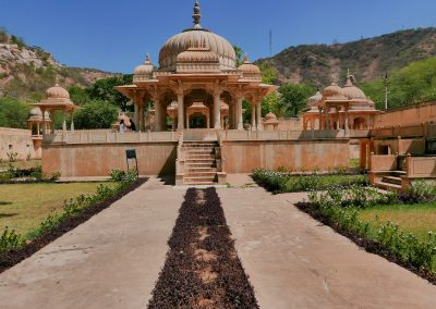 Garden Gaitore Memorials of Kings Jaipur