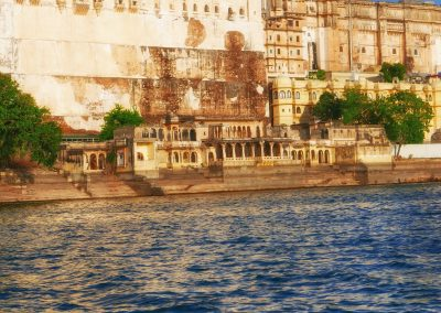 Ghats & City palace Udaipur