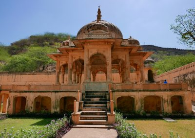Pavillion Gaitore Memorials of Kings Jaipur