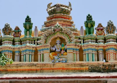 The Sacred bull hindu temple Bangalore India
