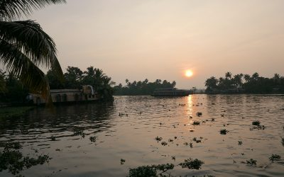 On The Backwaters of Aleppey Kerala