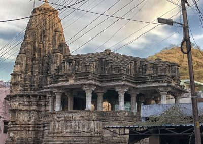 Temple and hills Bundi
