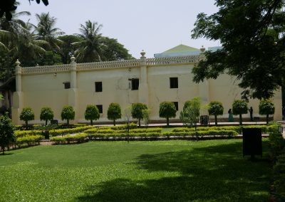 Lawns of Tippu's summer palace Bangalore India