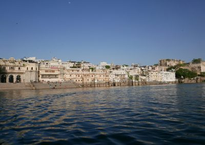 Udaipur from the lake
