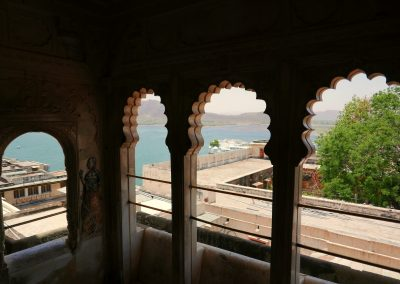 View to the lake Udaipur