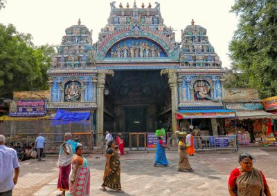 Madurai Gateway near temple