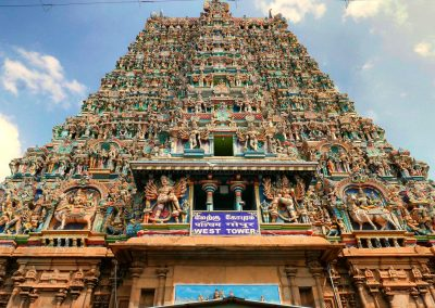 Madurai Menakshi Temple West tower