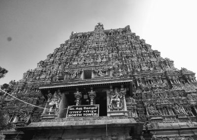 Madurai North tower bw