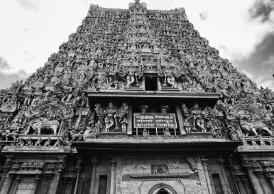 Madurai South tower bw