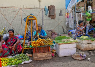 Madurai market Fruit sellers