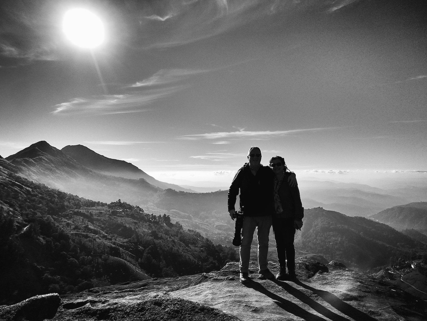 Munnar On top of the world 3 BW