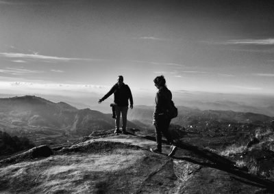 Munnar On top of the world bw