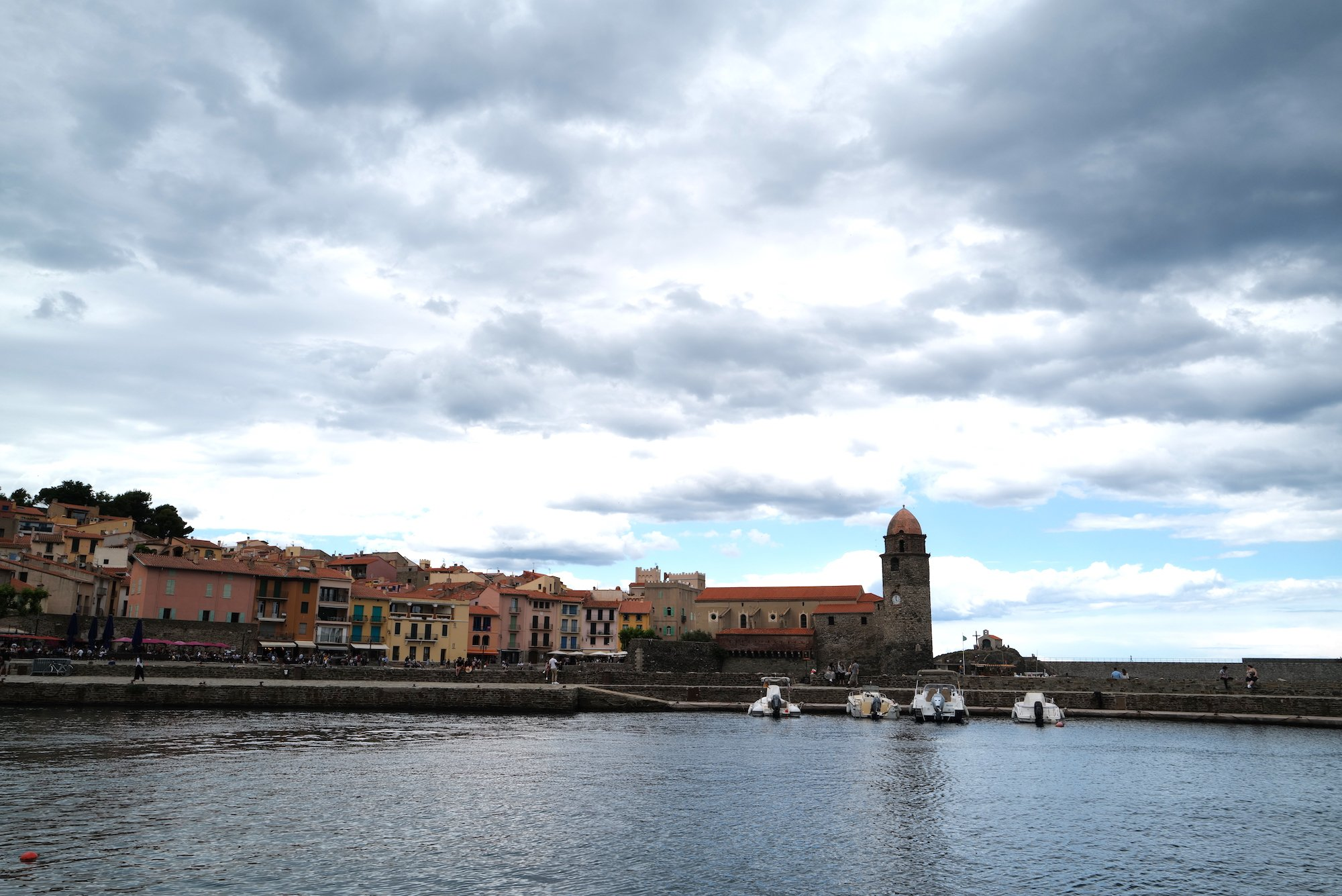 Collioure clock tower