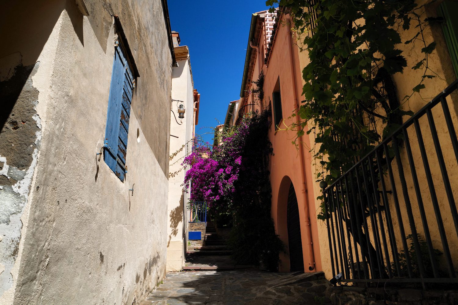 Street in Collioure