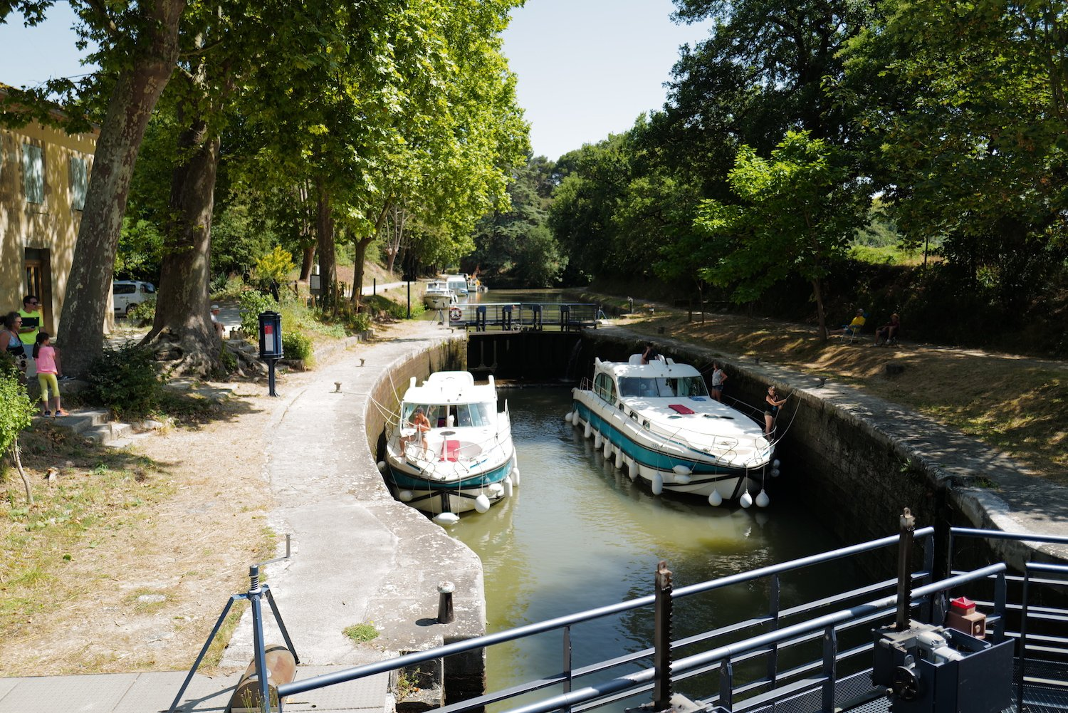 Lock at Seuil de Naurouze